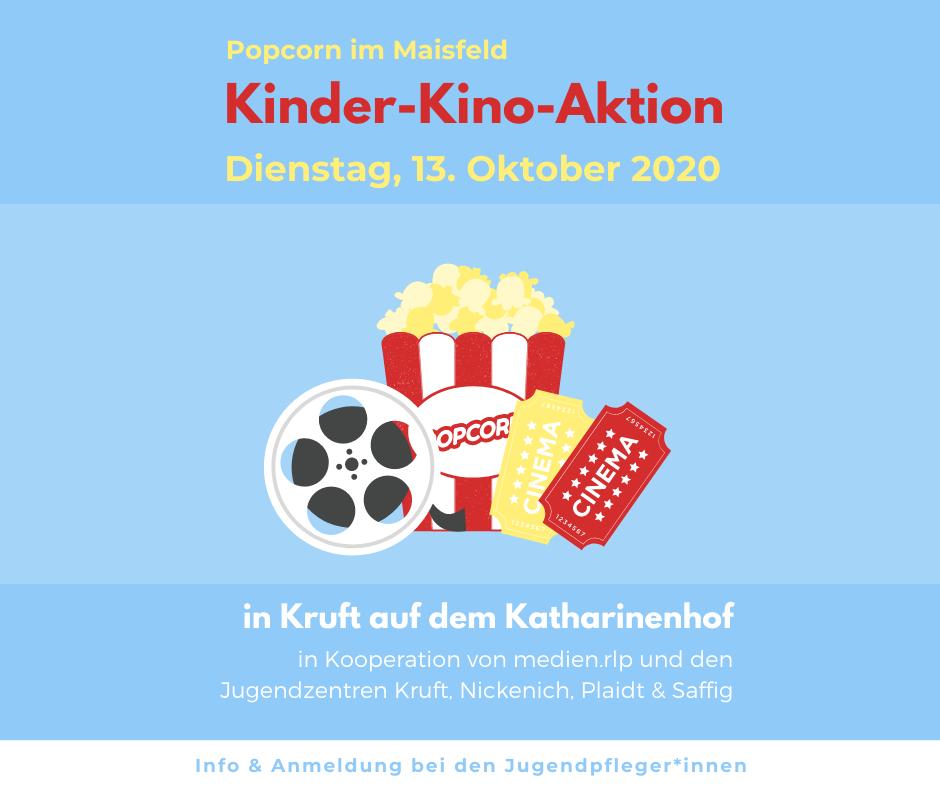 Popcorn im Maisfeld – Kinder-Kino-Aktion in den Herbstferien