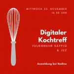 Digitaler Kochtreff am Mittwoch, den 25. November